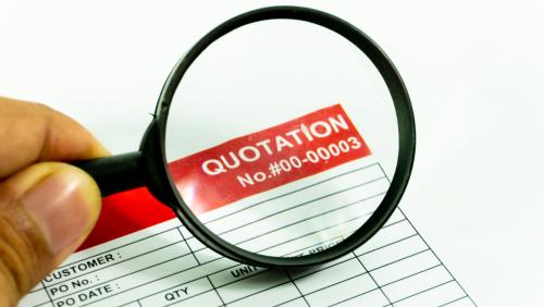 申請科技券資助,緊記按要求遞交報價單。